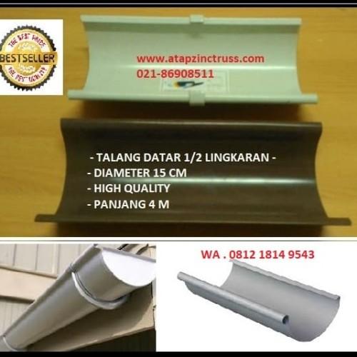 Foto Produk Talang Air Rumah bahan metal baja lapis zincalume -Kuat dan Tahan Lama dari Atapzinctruss