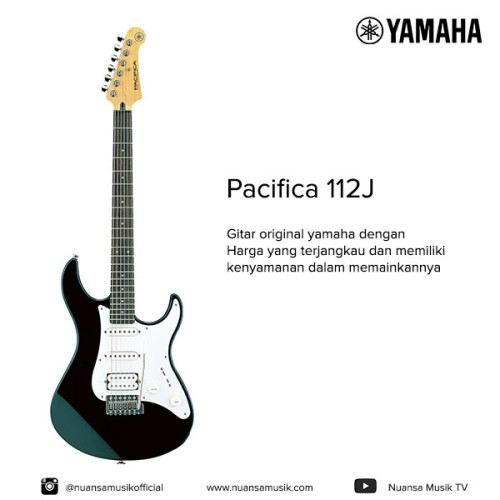 Foto Produk Yamaha Gitar Elektrik Pacifica 112J BL dari Nuansa Musik