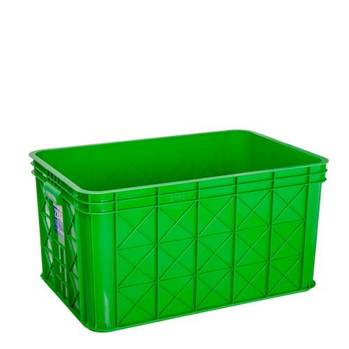 Foto Produk BOX CONTAINER GREEN LEAF 2243 P / BAK AIR KERANJANG INDUSTRI SERBAGUNA dari laulau