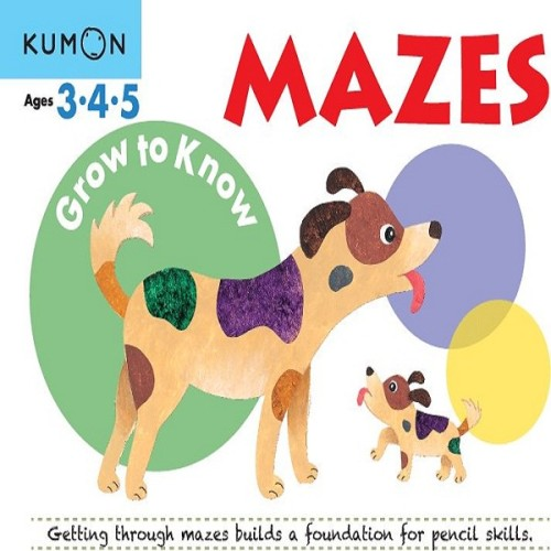 Foto Produk Buku Anak - Kumon - Grow to Know: Mazes dari Kumon Publishing INA