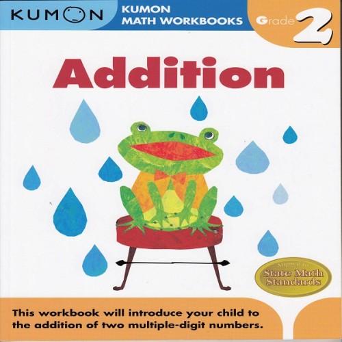Foto Produk Buku Anak - Kumon - Grade 2 Addition dari Kumon Publishing INA