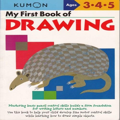 Foto Produk Buku Anak - Kumon - My First Book of Drawing dari Kumon Publishing INA