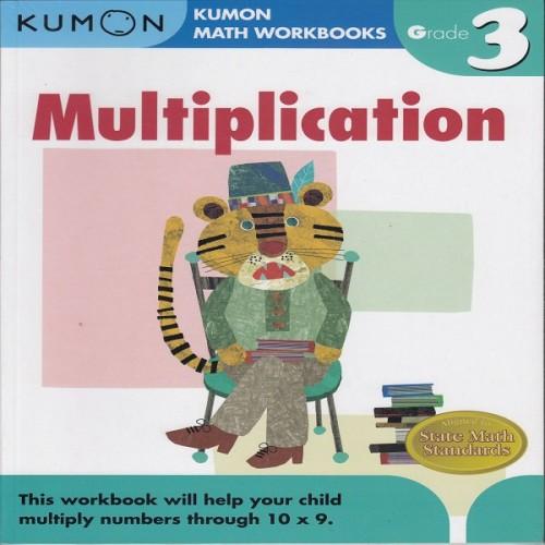 Foto Produk Buku Anak - Kumon - Grade 3 Multiplication dari Kumon Publishing INA