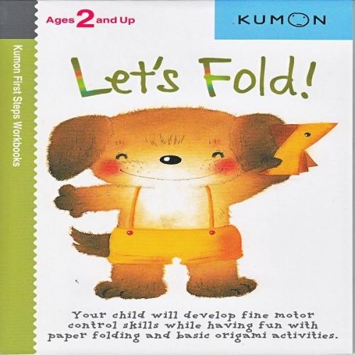 Foto Produk Buku Anak - Kumon - Let's Fold dari Kumon Publishing INA