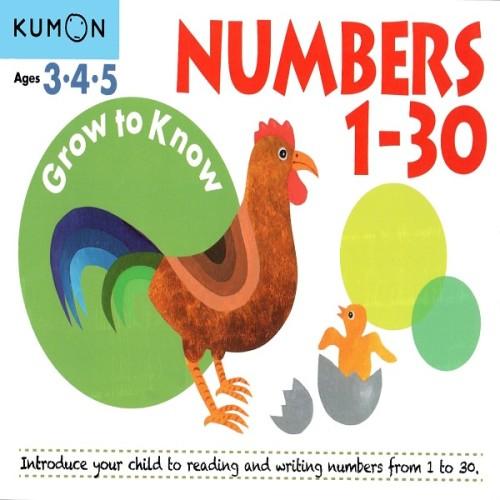 Foto Produk Buku Anak - Kumon - Grow to Know: Numbers 1-30 dari Kumon Publishing INA