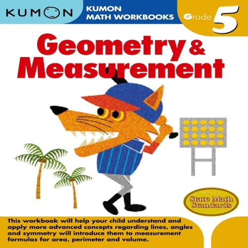 Foto Produk Buku Anak - Kumon - Grade 5 Geometry & Measurement dari Kumon Publishing INA