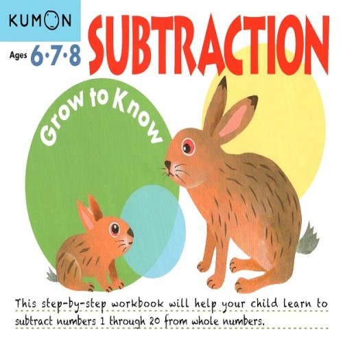 Foto Produk Buku Anak - Kumon - Grow to Know: Subtraction dari Kumon Publishing INA