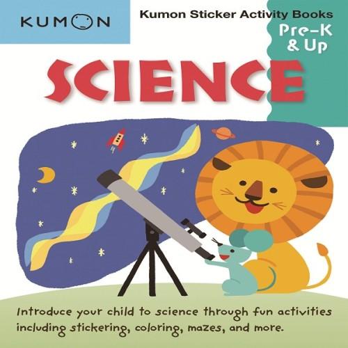Foto Produk Buku Anak - Kumon - Science Sticker Activity Book dari Kumon Publishing INA