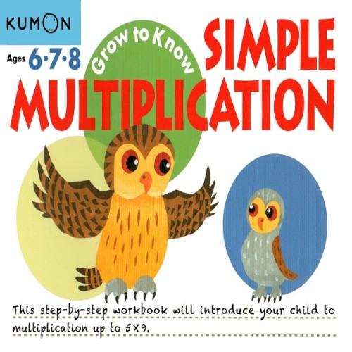 Foto Produk Buku Anak - Kumon - Grow to Know: Simple Multiplication dari Kumon Publishing INA