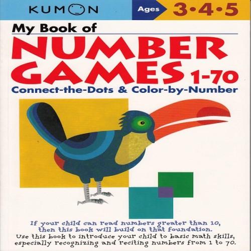 Foto Produk Buku Anak - Kumon - My Book of Number Games 1-70 dari Kumon Publishing INA