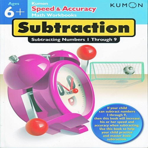 Foto Produk Buku Anak - Kumon - Speed & Accuracy: Subtracting Numbers 1-9 dari Kumon Publishing INA