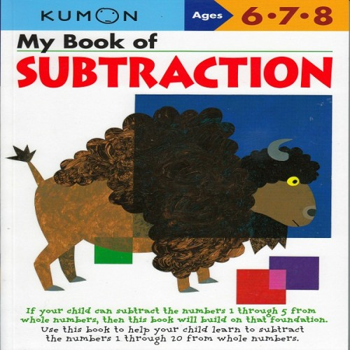 Foto Produk Buku Anak - Kumon - My Book of Subtraction dari Kumon Publishing INA