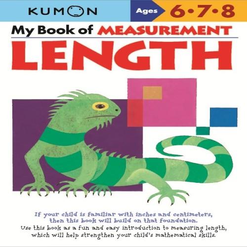 Foto Produk Buku Anak - Kumon - My Book of Measurement: Length dari Kumon Publishing INA