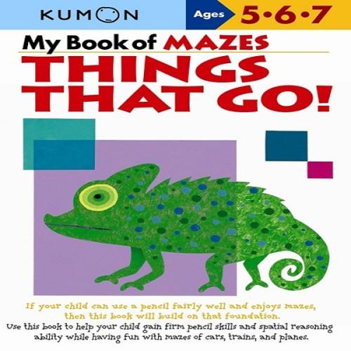Foto Produk Buku Anak - Kumon - My Book of Mazes: Things that Go! dari Kumon Publishing INA