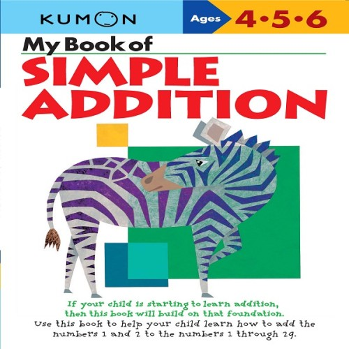Foto Produk Buku Anak - Kumon - My Book of Simple Addition dari Kumon Publishing INA