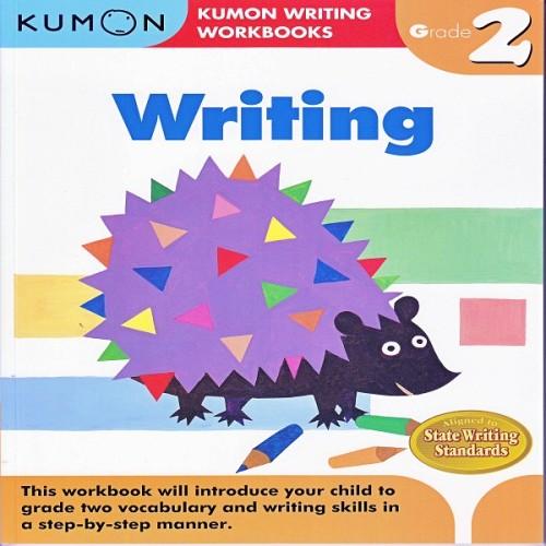 Foto Produk Buku Anak - Kumon - Grade 2 Writing dari Kumon Publishing INA