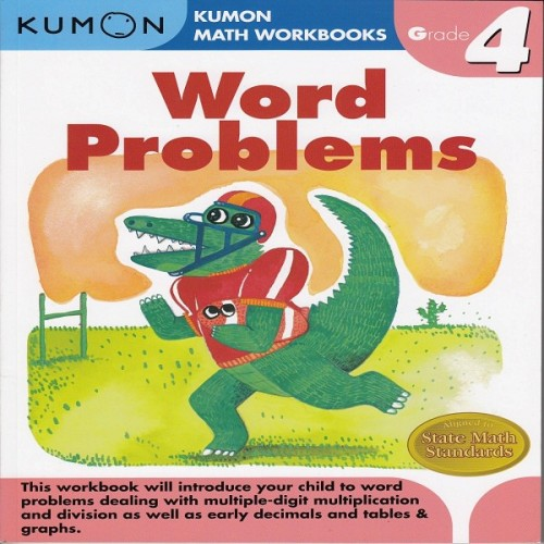 Foto Produk Buku Anak - Kumon - Grade 4 Word Problems dari Kumon Publishing INA