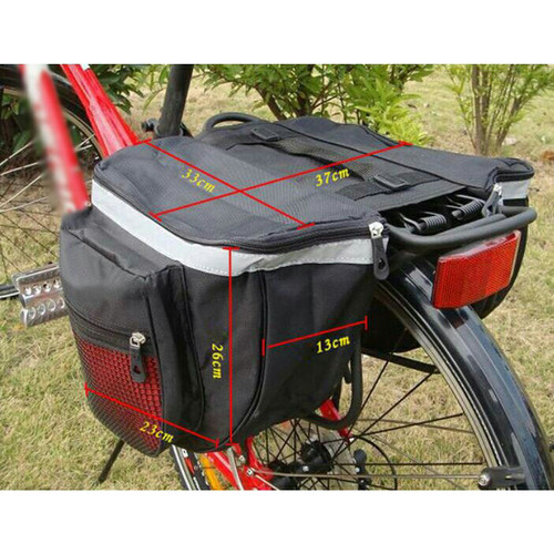Foto Produk tas sepeda belakang side bag sepeda dari Safety Boncengan Motor