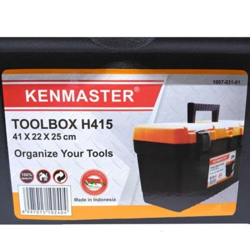Foto Produk Kenmaster H415 Toolbox Tool box Mano Besar Tool Box Kotak Perkakas HQ dari Puserba