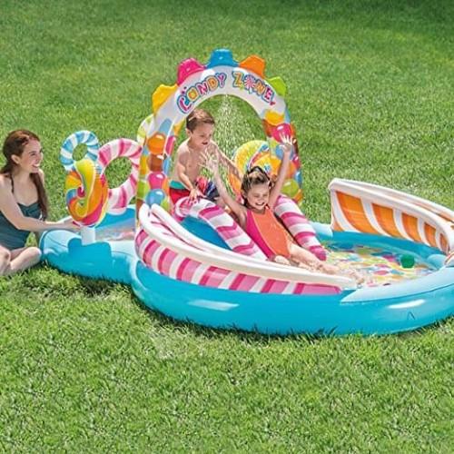 Foto Produk Intex Candy Zone Play Center. Kolam Renang Perosotan Mainan Anak 57149 dari Sportsite
