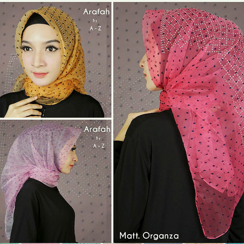 Jual Jilbab Segiempat Motif Mewah 06 New Kota Tangerang Selatan Tutorial Hijab Tokopedia