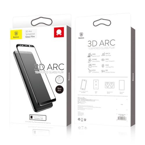 Foto Produk Baseus 3D Arc Tempered Glass Film For SAMSUNG Galaxy S8 - Putih dari Cute Agassi