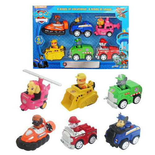 Foto Produk Mainan Anak Paw Patrol dengan Kemasan1 set isi 6 pcs Termurah dari OyaOna Shop
