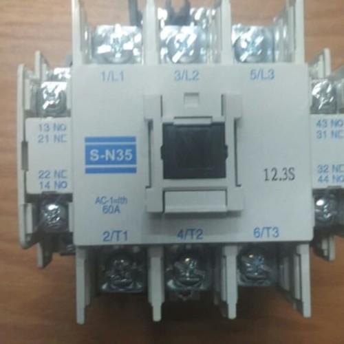 Foto Produk Kontaktor Mitsubishi Magnetic Contactor SN35 dari Bangkit Jaya Abadi
