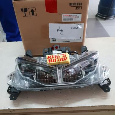 Foto Produk lampu depan, reflektor, reflector AEROX 155 ASLI YAMAHA dari King'S Motor