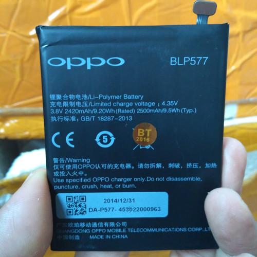 Foto Produk Baterai Batre OPPO Mirror 5 / A51W BLP577 Original Battery BLP577 ORI dari D'comshop