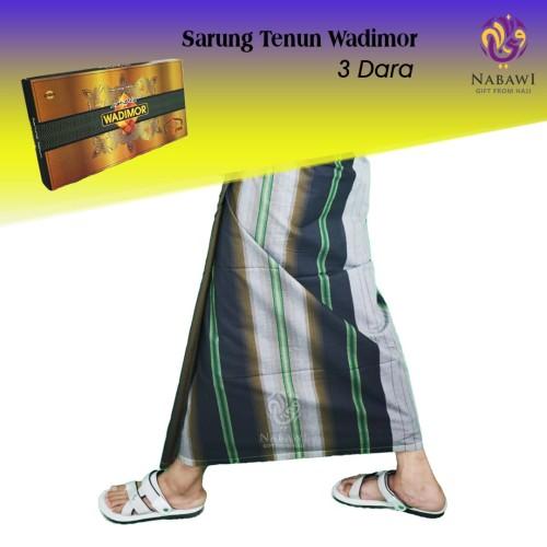 Foto Produk Sarung Wadimor 3 Dara/Tiga Dara/Sarung Tenun/Sarung Ukuran Dewasa/Haji dari Nabawi Bandung