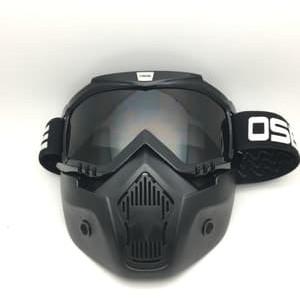 Foto Produk Google Mask atau google masker kaca bening dari Kitaro MotorShop