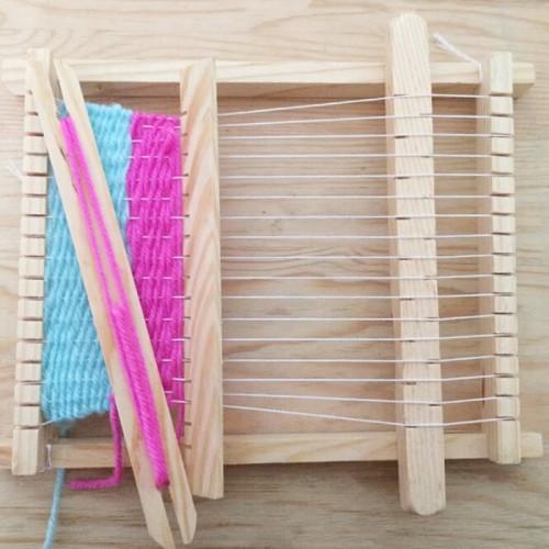 Foto Produk Children Traditional Wooden Weaving Loom - Alat Menganyam untuk Anak dari JPL CRAFT STORE