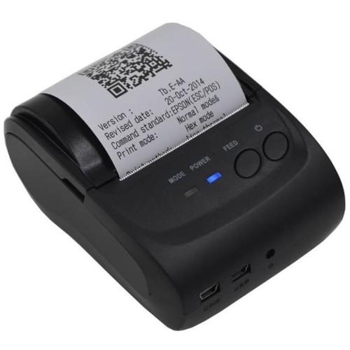 Foto Produk Zjiang Printer Resep Thermal Bluetooth - ZJ-5802 - Black dari rubic wear
