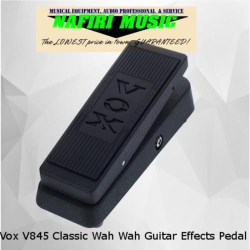 Foto Produk Vox V845 Classic Wah Wah Guitar Effects Pedal dari Nafiri Music Store