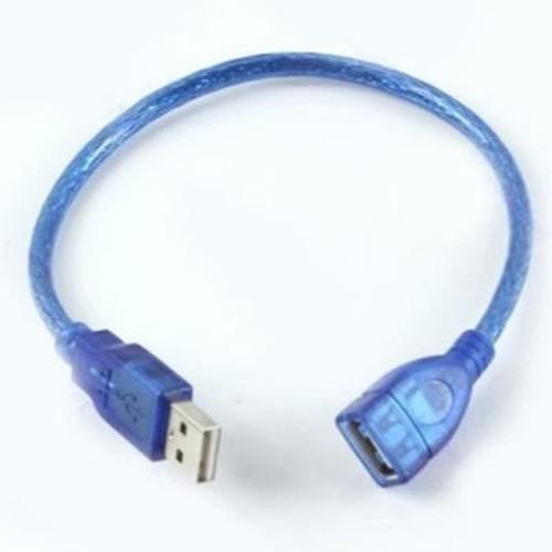 Foto Produk KABEL USB MALE FEMALE 30 CM / PERPANJANGAN USB / USB EXTENDER 30CM dari VN STORE ONLINE