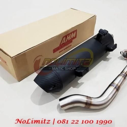 Foto Produk Knalpot Standar Racing Tsukigi AHM Malaysia Yamaha NMAX dari NoLimitz Maticshop