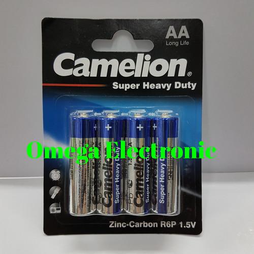 Foto Produk Battery Batre Batere Baterai Camelion A2 AA Super Heavy Duty 1.5V dari Omega Electronic