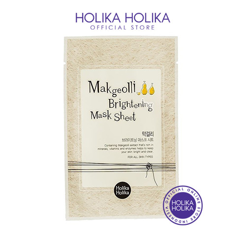 Foto Produk Holika Holika Makgeolli Brightening Mask Sheet - 20011341 dari Holika Holika Indonesia
