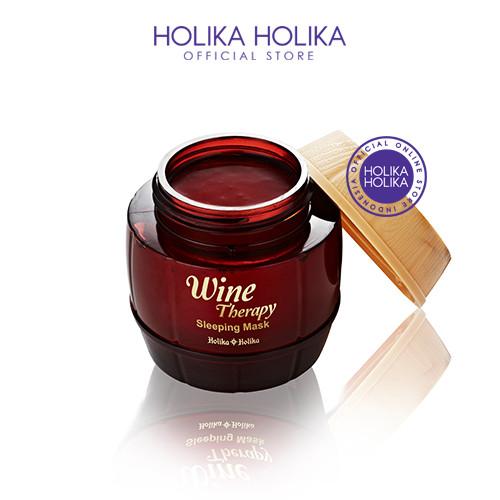 Foto Produk Holika Holika Wine Therapy Sleeping Mask - Red Wine - 20011441 - BOX dari Holika Holika Indonesia