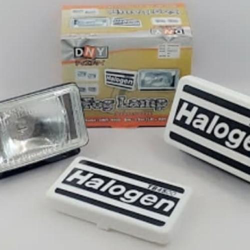 Foto Produk Lampu Sorot / Lampu Tembak/Fog Lamp Halogen 12V/55W H3 Kotak 16 x 9 cm dari Sigma Motor