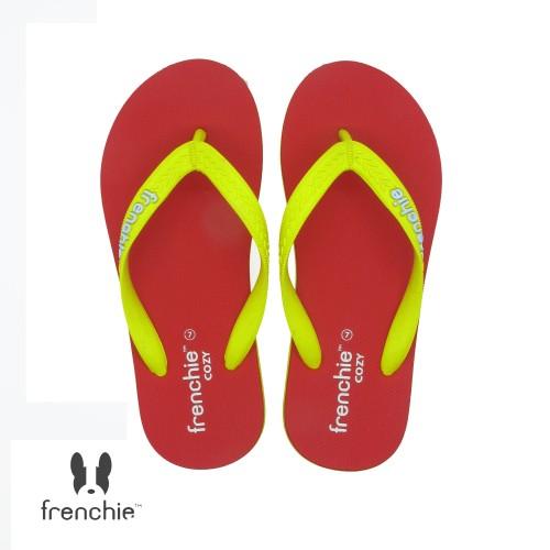 Foto Produk FRENCHIE Sandal Jepit COZY SCM16 Yellow Red - 37 dari FRENCHIEWAY