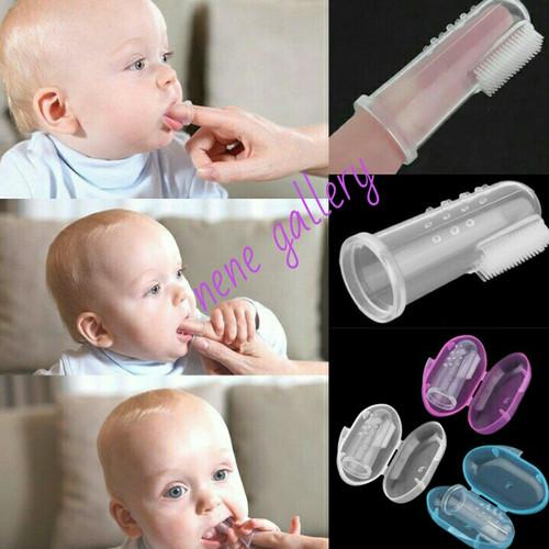 Foto Produk sikat gigi bayi/sikat gigi anak - Biru dari Nene Gallery