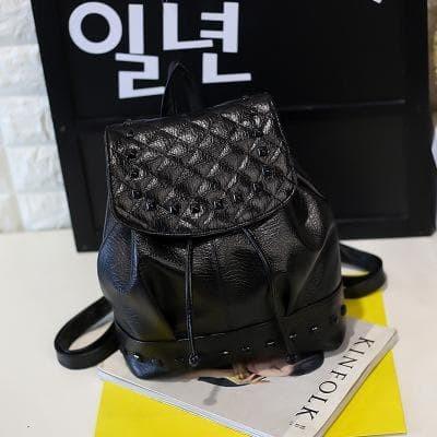 Foto Produk Tas Ransel Kulit Korea Wanita Backpack Tas Kuliah dari MsBean