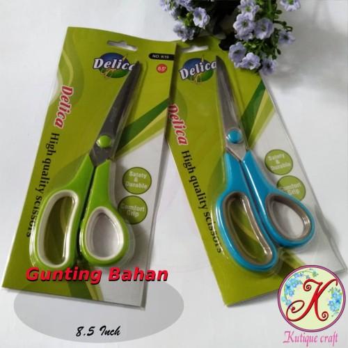 Foto Produk Gunting Delica 8,5 Inch (alat craft / kerajinan) dari Kutique Craft