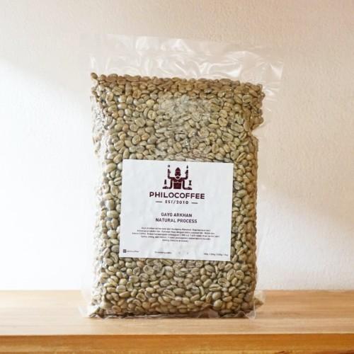 Foto Produk Green Bean Gayo Arkhan Natural Process 1kg dari Philocoffee