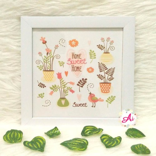 Foto Produk Poster / Pajangan / Wall Decor Shabby: Sweet Home 2 dari ai_decor