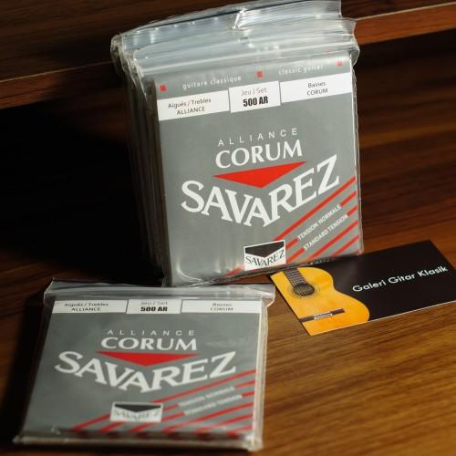 Foto Produk Savarez Alliance Corum Medium Tension - Senar Gitar Klasik Nylon dari Galeri Gitar Klasik