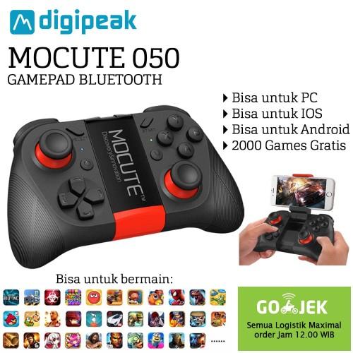 Foto Produk MOCUTE 050 VR Game Pad Android Joystick Bluetooth Controller - Hitam dari Unitech Official