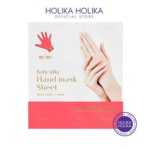 Foto Produk Holika Holika Baby Silky Hand Mask Sheet - 20017602 dari Holika Holika Indonesia